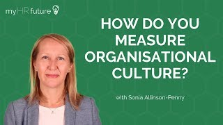 HOW DO YOU MEASURE ORGANISATIONAL CULTURE?