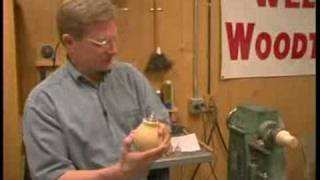 Wood Turning Oil Lamps : Wood Turning An Oil Lamp From Blocks
