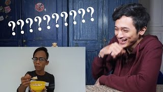 NONTONIN ORANG MAKAN BUBUR | Super Bubur Review Reaction