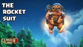 "INTRODUCING ""THE ROCKET SUIT"" BRAND NEW MODE OF BATTLE MACHINE IN CLASH OF CLANS( CONCEPT)"