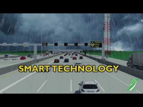 SmartRoad on Jane Addams Memorial Tollway (I-90)