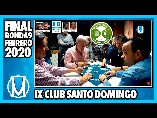 PARTIDA DE MUS - Final del IX Torneo Club Santo Domingo