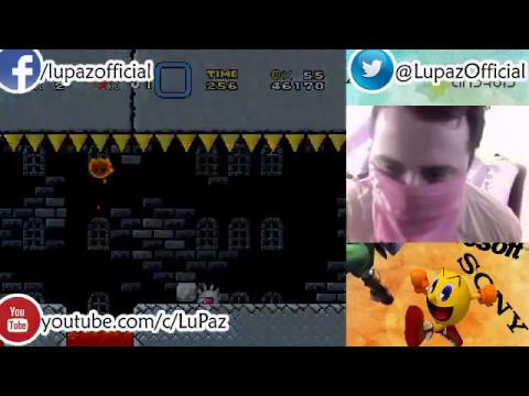 Super Mario World - Mario corre para salvar su trasero - Directo - Lu Paz