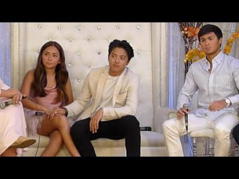 Video Coverage of Can't Help Falling in Love Media Launch with Kathniel Daniel Padilla Kathryn Berna