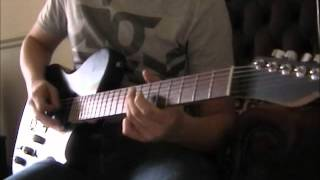 -MUSE- supermassive black hole guitar tutorial/lesson (whole song)