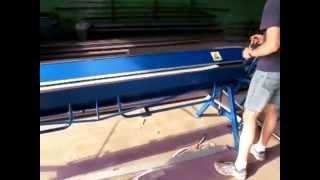 видео Листогиб механический BerTech ZRF 2750/1.2 в комплекте с опциями