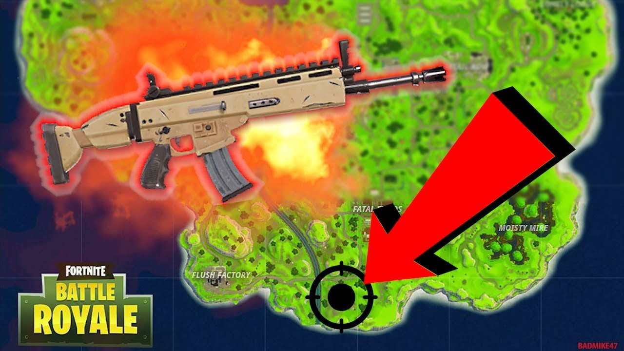 Scar Location In Solo Scar Guarantee Fast Loot Fortnite