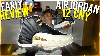 e8a78b38221e ... AIR JORDAN 12 CHINESE NEW YEAR 2019 DETAILED EARLY REVIEW!  WATCH  BEFORE YOU BUY