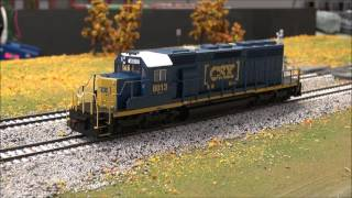 Product Demo: Bachmann SD40-2 w/DCC Sound value