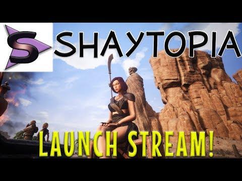 CONAN EXILES - Shaytopia 2.0 Server Launch! (Stream)