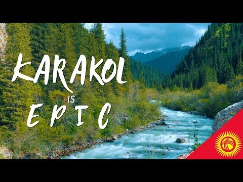 Dungan cold noodles & mountains everywhere - Karakol & Jeti Oguz- KYRGYZSTAN FOOD & TRAVEL VLOG