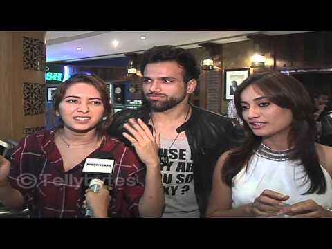 """I hate RaQesh""- Rithvik Dhanjani | Asha, Rithvik and Surbhi in fun conversation with telly bytes.."