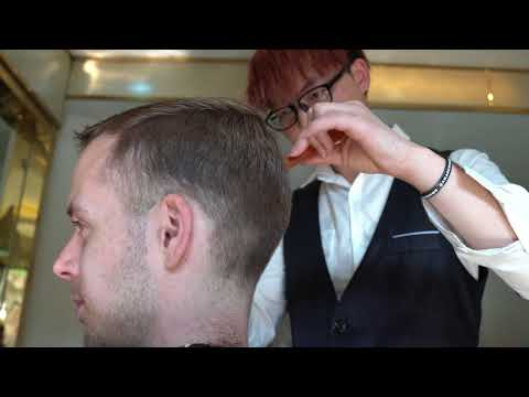Amazing ASMR haircut in Chengdu China II