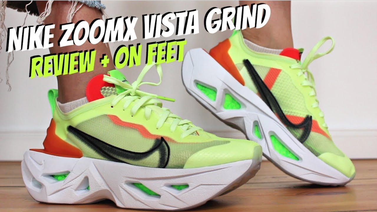 NIKE ZOOMX VISTA GRIND REVIEW + ON FEET