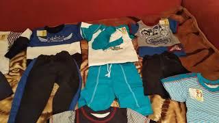 Распаковка посылки с детской одеждой от ТМ
