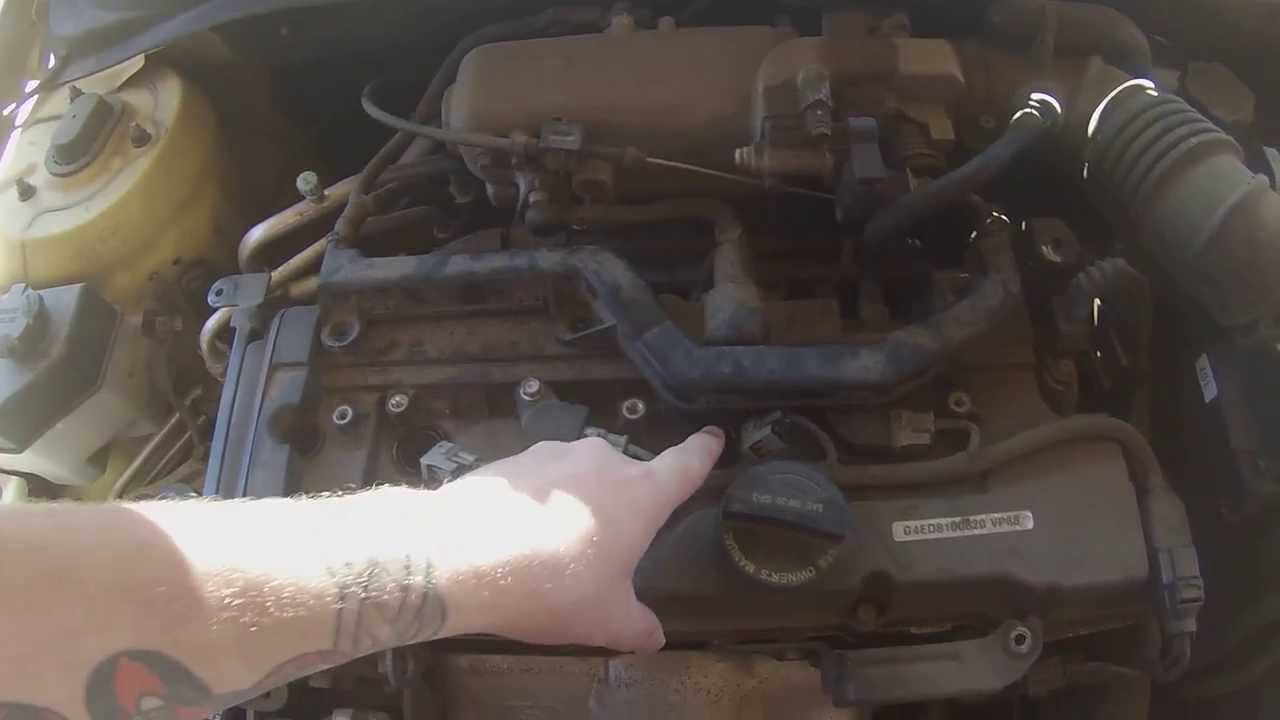 maxresdefault replacing coil packs 2008 hyundai accent gs part 1 youtube Ignition Coil Pack Harness at panicattacktreatment.co