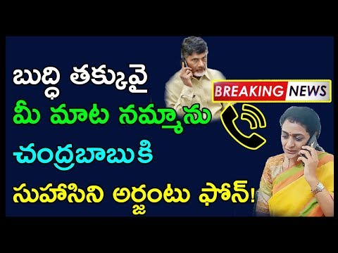 Nandamuri Suhasini Comments On Chandrababu Over TS Elections | TS Election Results | Janatha Tube