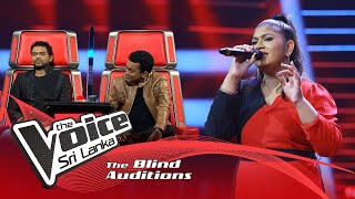 Irushi Aanuradhi Jayaratne - Sri Lanka Maa Priyadara Jaya Bhoomi|Blind Auditions|The Voice Sri Lanka Thumbnail