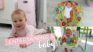 How to Entertain a Baby | 3-6 Months