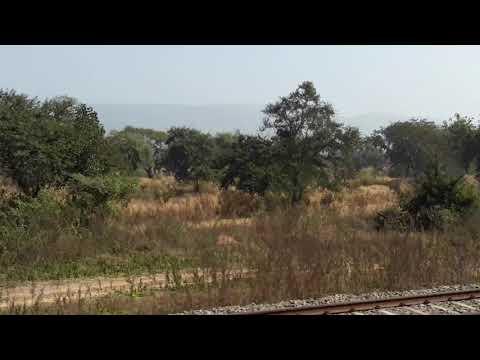 ChotaNagpur Plateau as seen from train