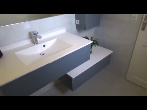 Meuble Salle de Bain en décalé, Moderne et Design - Atlantic Bain