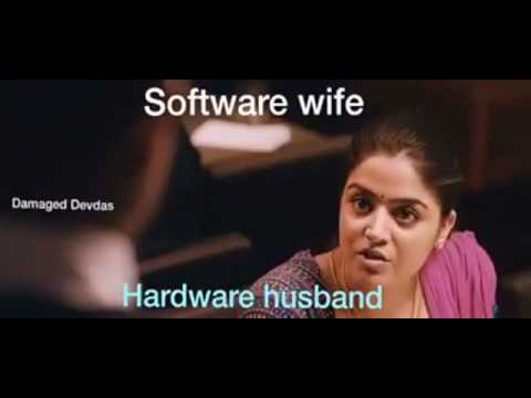 Software wife and hardware husband's