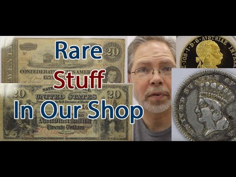 Weird Counterfeit Coin? RARE Currency, Gold Coins Came Into Our Coin Shop