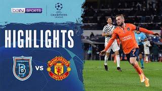 İstanbul Başakşehir 2-1 Manchester United | Champions League 20/21 Match Highlights