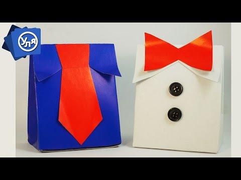 Коробка подарок Мужчине Своими руками Рубашка