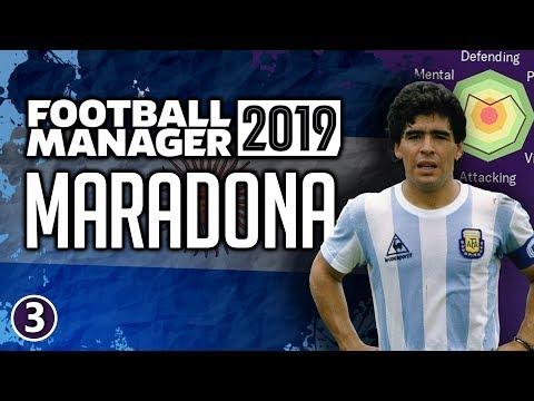 Maradona In Football Manager 2019 - Part 3 | FM19 Legends Reborn Experiment