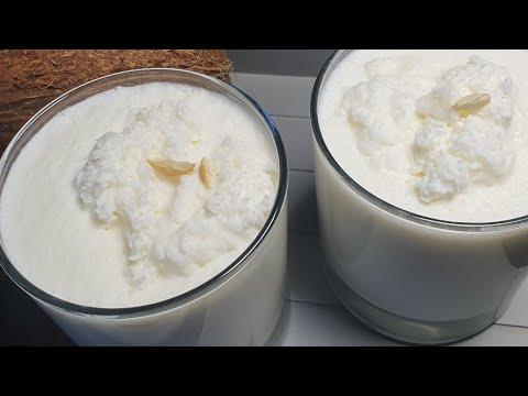 Coconut  milkshake |refreshing milkshake