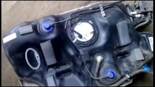 как снять бензобак на шевроле круз