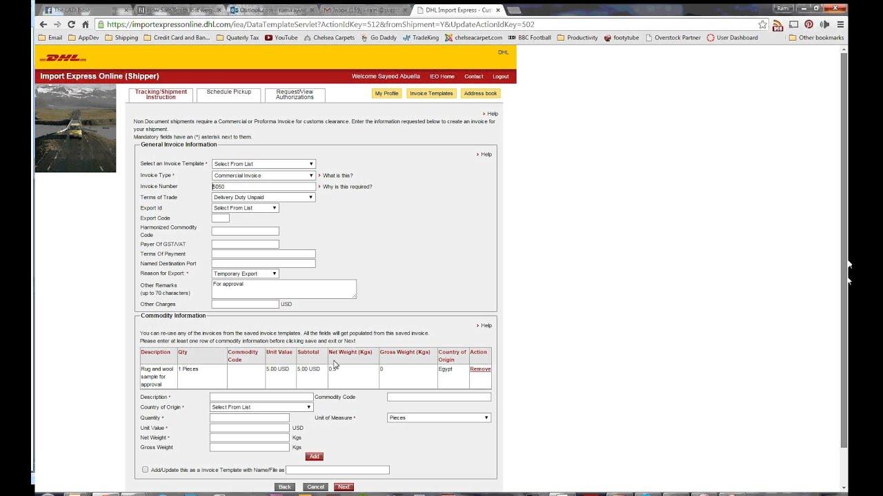 DHL import FULL - YouTube