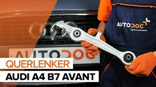 Installation Lmm AUDI A4: Video-Handbuch