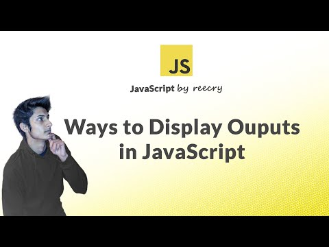 Different Ways To Display Output Using JavaScript (getElementById, Alert, Document.write)