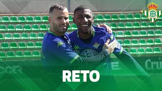 ¡Reto de puntería con EMERSON y JESÉ RODRÍGUEZ!   CHALLENGE   Real Betis Balompié