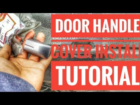 Acura Tl Door Handle Cover Install Tutorial Youtube
