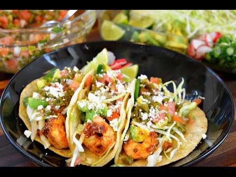 Grilled Chipotle Shrimp Tacos Recipe