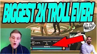 BIGGEST 2K TROLL EVER!! 99.98% TO SS3 RUINED! NBA 2K17 MYPARK
