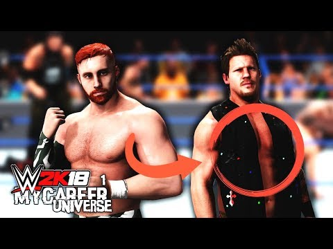 WWE 2K18 MyCareer Universe Ep 1  Crazy 5 Star Match! Chris Jerichos Scarf!