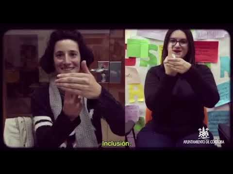 Vídeo sobre el taller de lengua de signos del Ayuntamiento