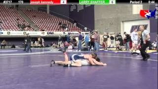 FSN 170: joseph kennedy (F.I.T) vs. LARRY SHAFFER (TEAM INDIANA)