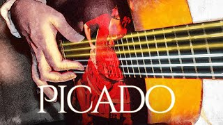 Picado Tutorial Spanish Guitar School Free Lesson