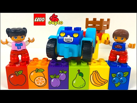 LEGO DUPLO ID 10615 - MY FIRST TRACTOR HELPS YOU LEARN ABOUT ...