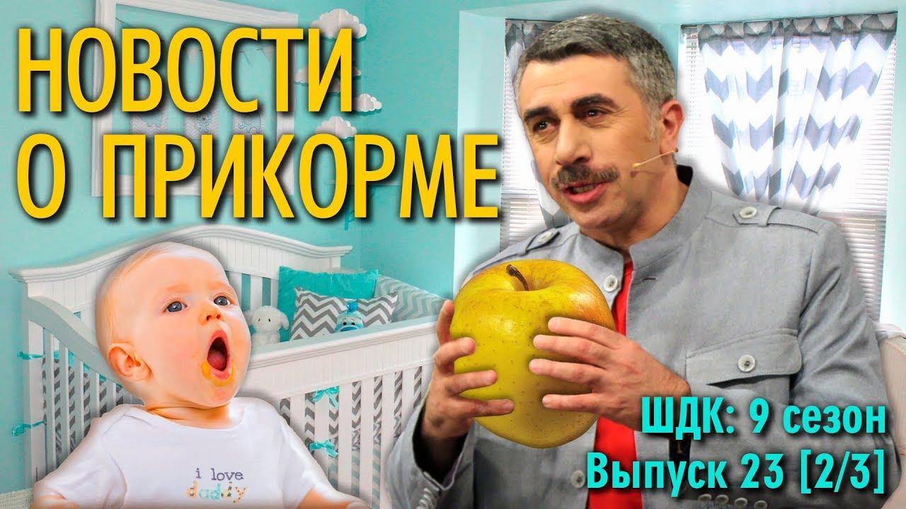 Новости о прикорме - Доктор Комаровский