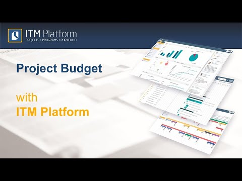 Project Budget with ITM Platform