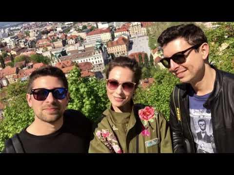 Ljubljana, Slovenia. Один день в Любляне.