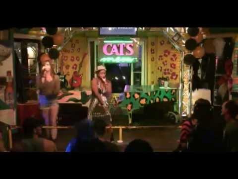 "Winston Ft Abbey ""MC Country"" @ Cats Meow Karaoke"