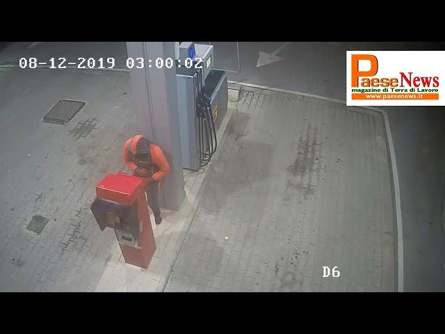 teano furto distributore taverna zarone