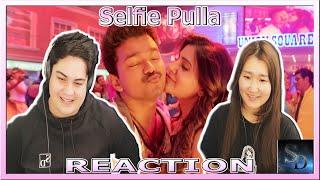 Selfie Pulla Reaction! | Kaththi | Thalapathy Vijay | Samantha Ruth Prabhu | Full Video Song |